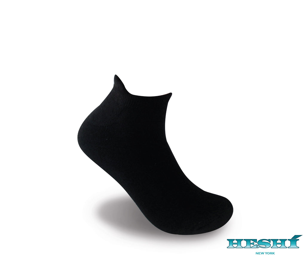 Heshí Ankle Sock - Black