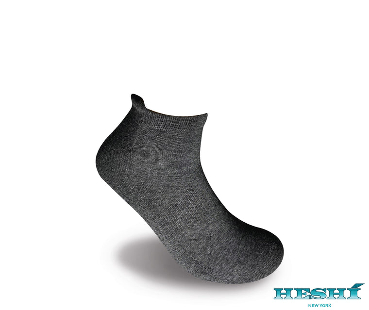 Heshí Ankle Sock - Charcoal