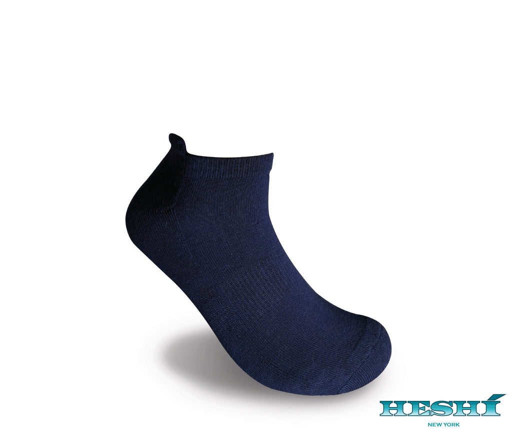 Heshí Ankle Sock - Blue