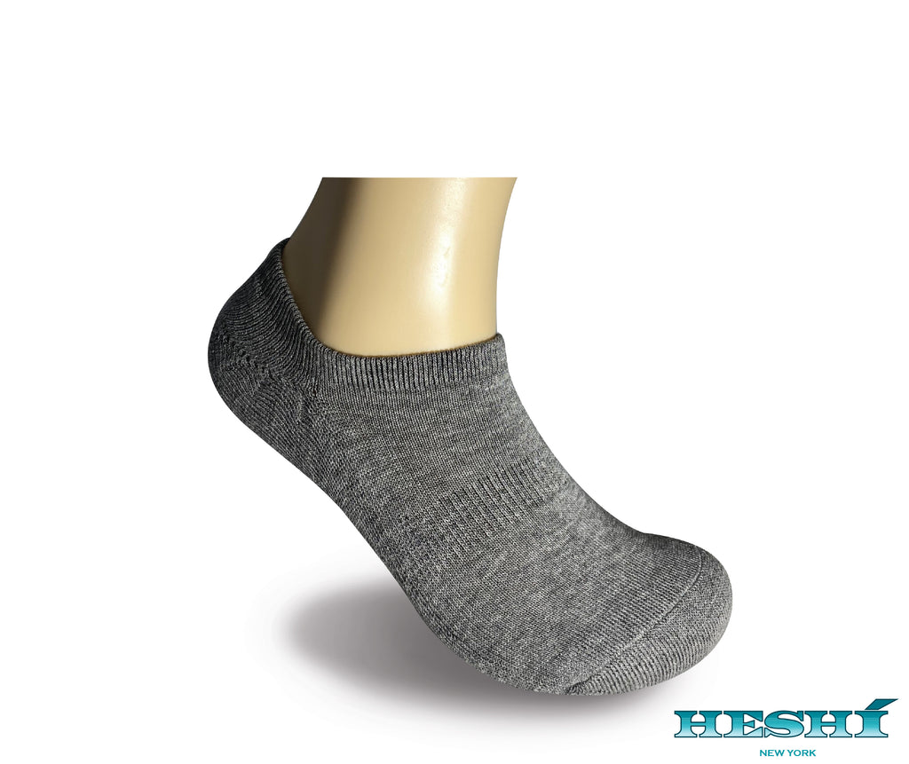 Heshí Invisible Liner Sock - Grey