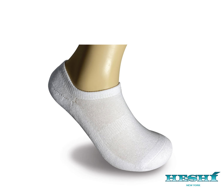 Heshí Invisible Liner Sock - White