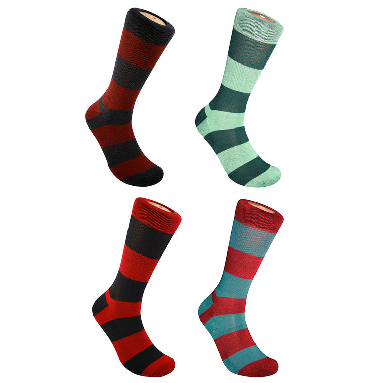 Heshí Rugby Stripe Sock Collection - Heshí Socks