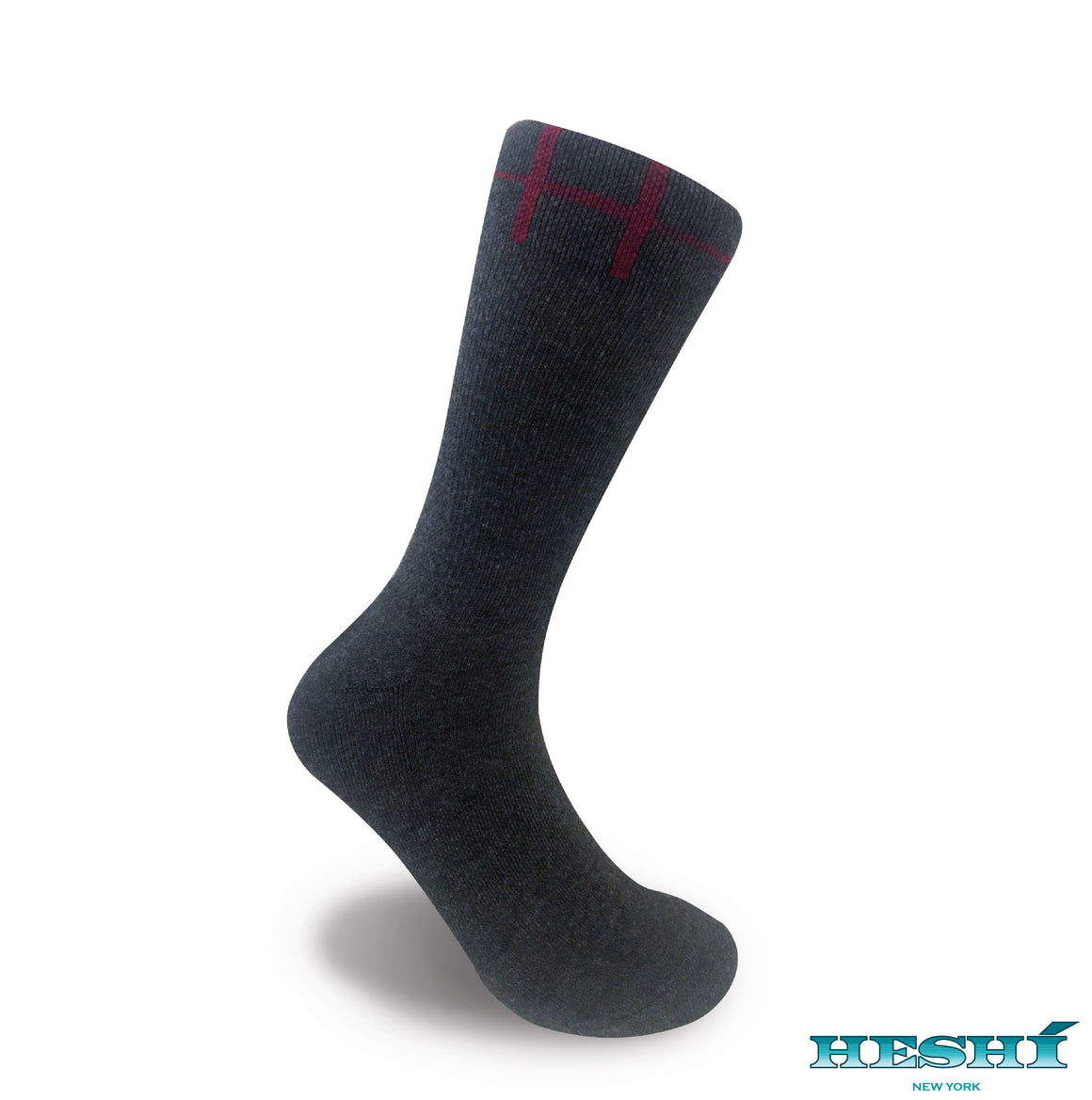 Heshí Basic Crew Sock - Charcoal