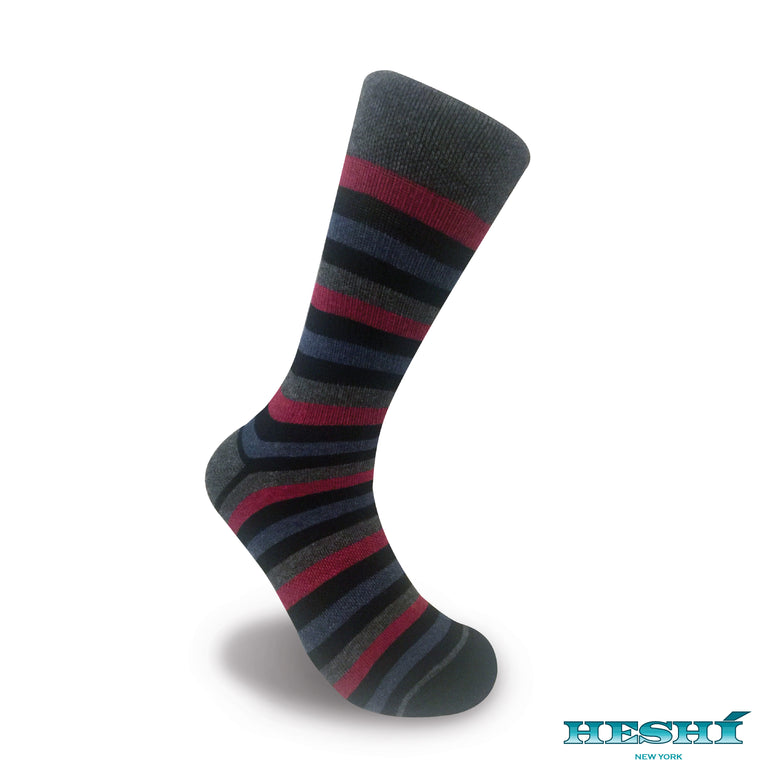 Heshí Medium Stripe - Black / Red