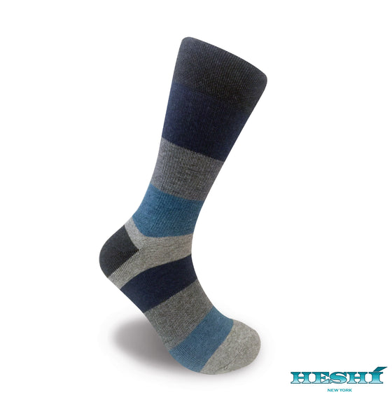 Heshí Cool Funky Colorful Fashion Comfort Mens Cotton Crew Online Designer Dress Sock