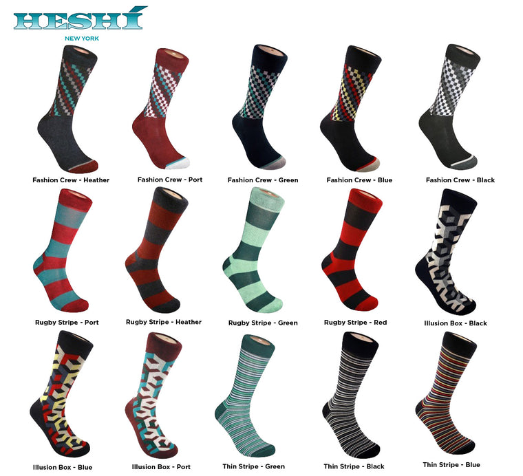 The Full Monty! - Heshí Socks