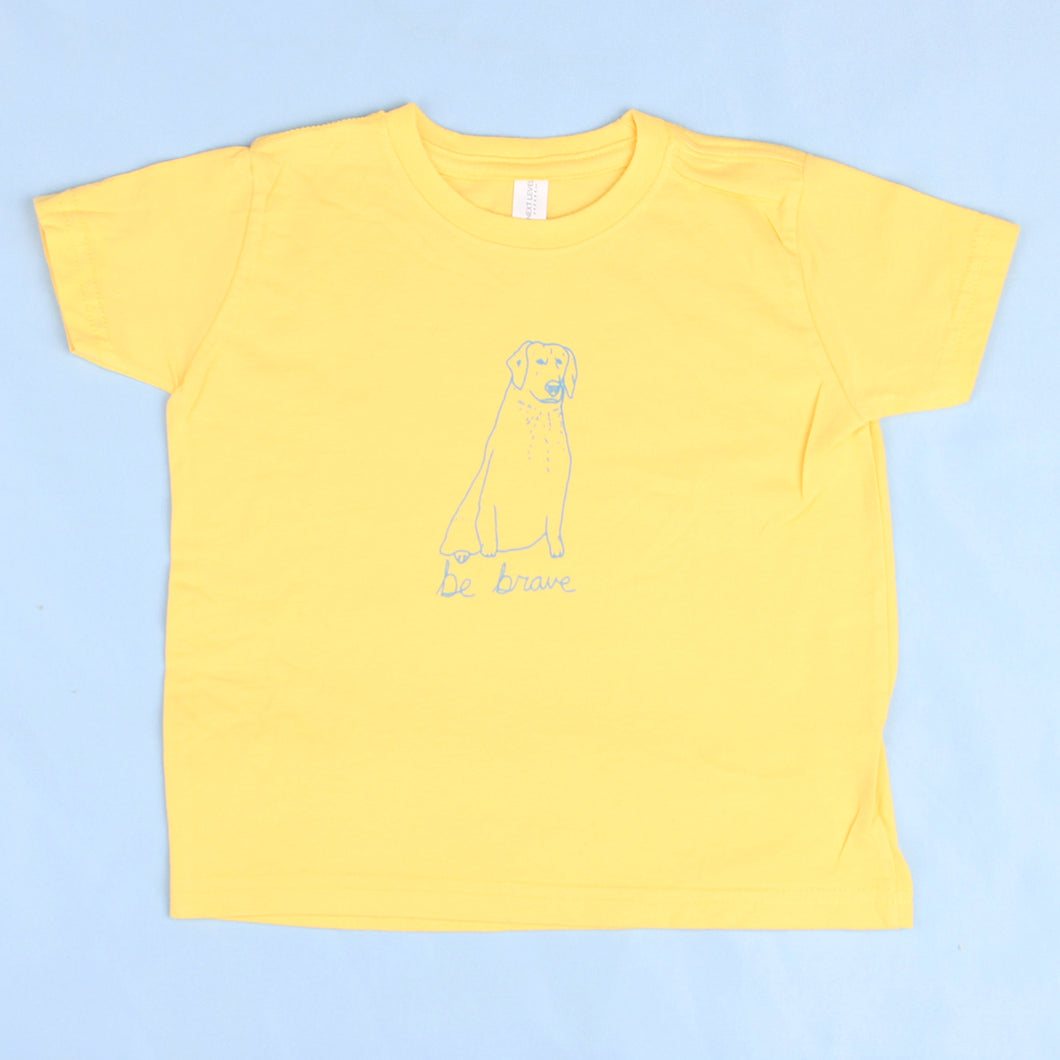 Be Brave lil kids tee