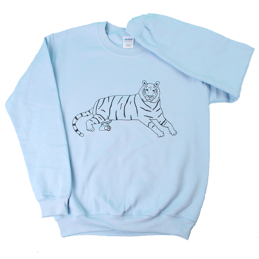 Casual Tiger Sweatshirt