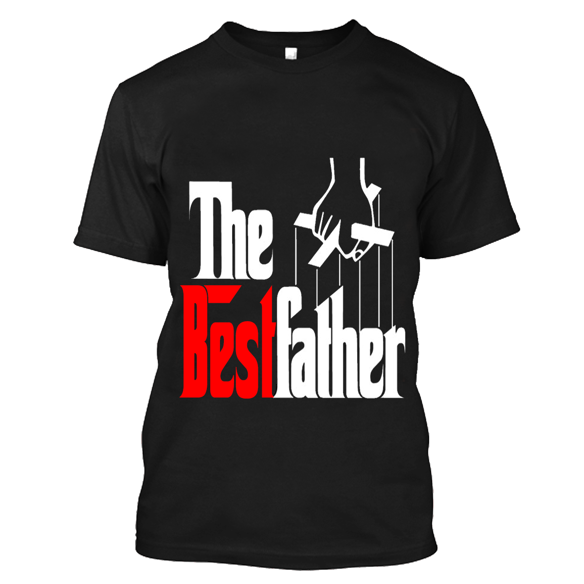The Best Father - (Red) - AVAILABLE FOR MEN/WOMEN - NOTE: May not arrive in time for Father's Day