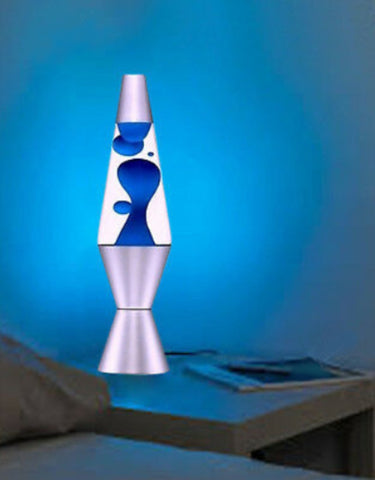 70's Retro Motion Lava Lamp - Relaxing Rocket Modern Mood Night Light