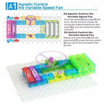 STEM Educational Circuit Kit for Kids - Electronic Building Blocks