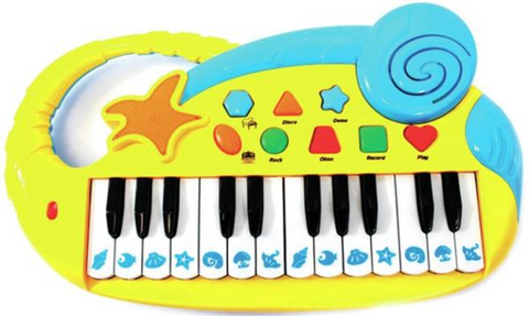 Electric Organ Musical Keyboard Piano for Kids with 24 Keys