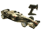 Formula 1 Car F1 BLACK ACTION RACE CAR - Radio Control 1:8 Scale