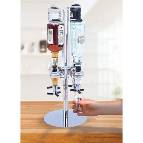 Rotating 4 Station Party Serving Station Drink Dispenser