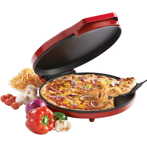 Betty Crocker Red Countertop PIZZA MAKER