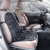 Velour Heated Car Seat Cushion with Adjustable Temperature