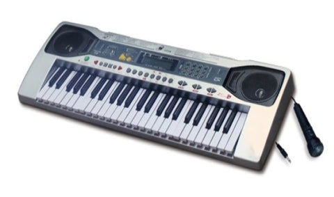 Electric Keyboard Piano Organ 49 Key Microphone Recording