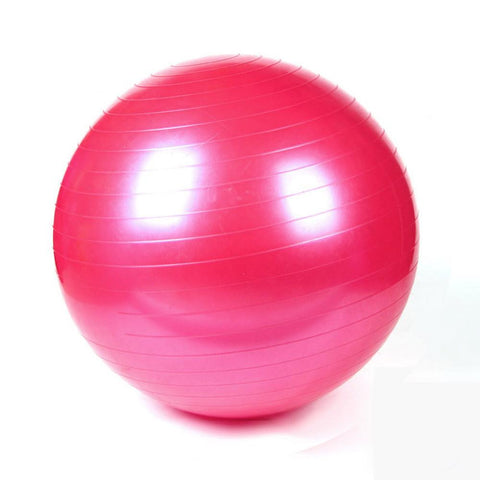 Slip Resistant SMOOTH FITNESS BALL with Pump - Strong Wired