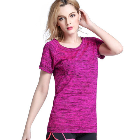 Women's Short Sleeve Workout Tee - Strong Wired