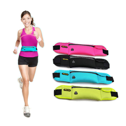 SMARTPHONE TRAVEL WAIST BAG:  Workout or Travel in STYLE fully equipped! - Strong Wired
