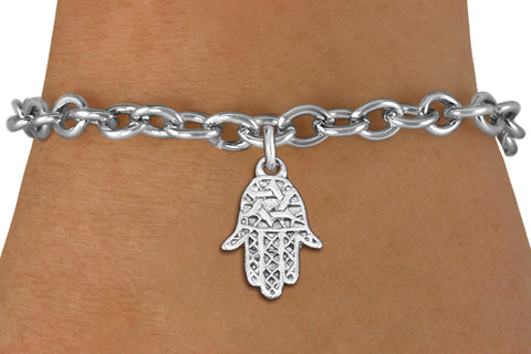 "Hamsa ""Good Luck"" Charm Bracelet"