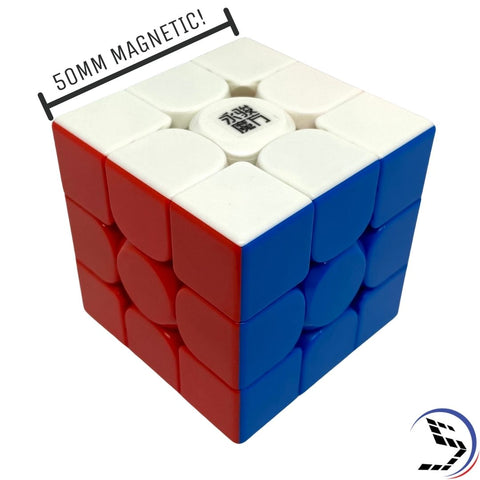 YJ Zhilong 50mm Mini Magnetic 3x3 Speedcube YongJun - Speedcube rubik's rubiks rubix cube speed cube mindplay mindplay.nz buy speedcubing