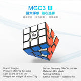 YJ MGC3 V2 3X3 MAGNETIC SPEEDCUBE STICKERLESS - Speedcube rubik's rubiks rubix cube speed cube mindplay mindplay.nz buy