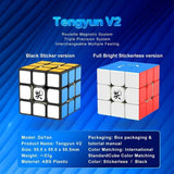 DAYAN TENGYUN V2 3X3 SPEEDCUBE STICKERLESS - Speedcube rubik's rubiks rubix cube speed cube mindplay mindplay.nz buy