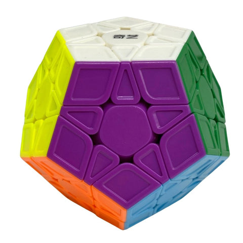 Qiyi QiHeng Megaminx Speedcube Sculpted Stickerless - Speedcube New Zealand
