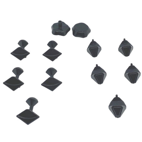 YJ YuHu Megaminx Black Replacement Parts - Speedcube New Zealand
