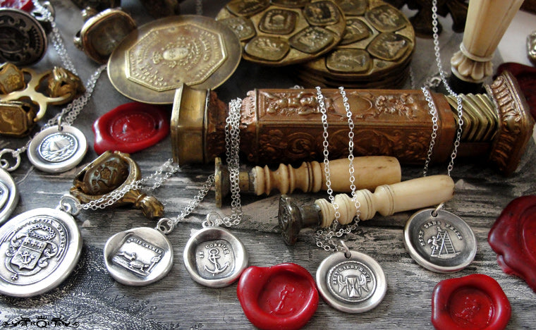 RQP Studio Wax Seal Jewelry