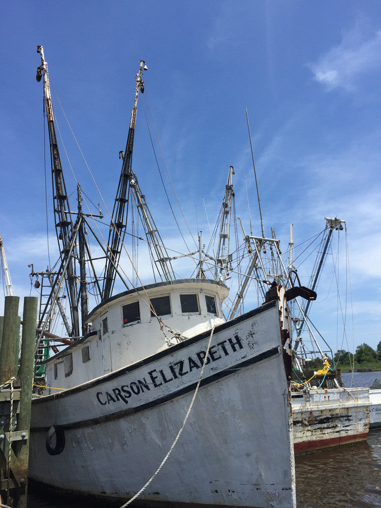 Shrimp Boat In Georgetown South Carolina