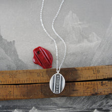 Load image into Gallery viewer, First Prize - Silver Wax Seal Necklace - 1st Prize Place Grand Award