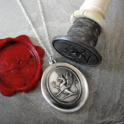 Griffin Wax Seal Necklace