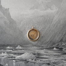 Load image into Gallery viewer, Guiding Star Wax Seal Pendant -Bronze Polaris North Star Jewelry - RQP Studio