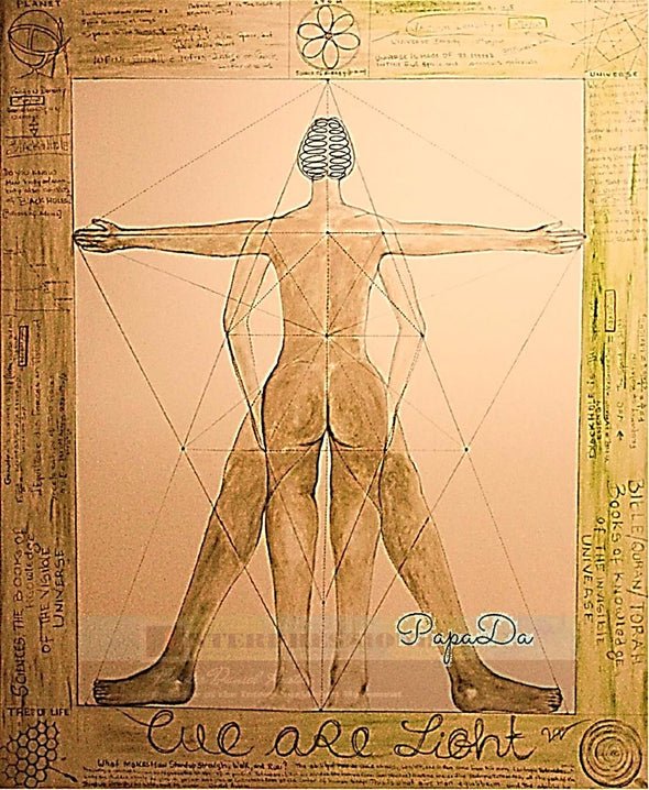 "© ""Human Body in the Tetrahedron"""