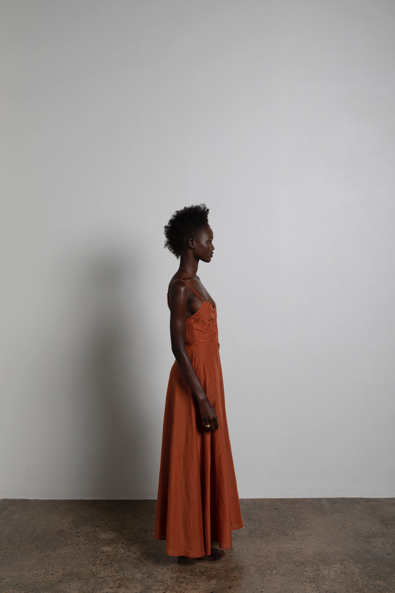 The Sommer in Rust-Robes-Robe