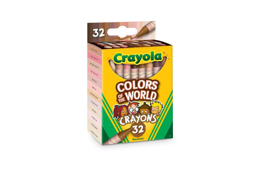 Crayola Launches New Crayon Pack of Skin Tone Colors From Around the World to Promote And Encourage Inclusivity