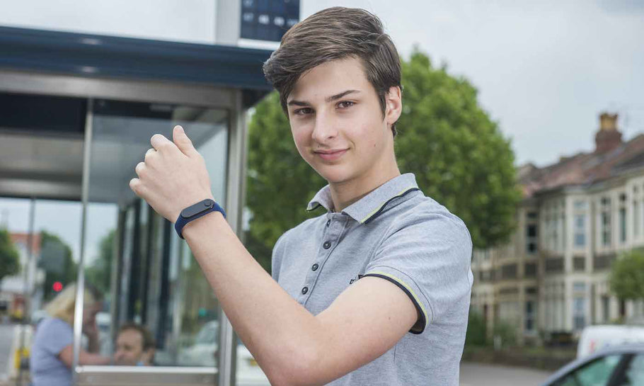 Meet Max Melia : The 15 Year Old UK Inventor Who Is Helping Prevent Covid-19 With A Wristband That Stops You From Touching Your Face