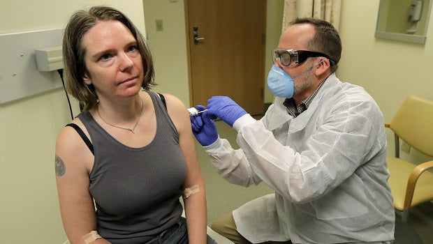 US Volunteers In Seattle To Test First Vaccine For Coronavirus