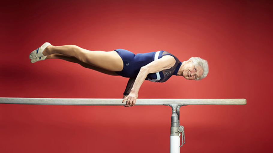 Meet 94 Year Old Gymnast Johanna Quaas