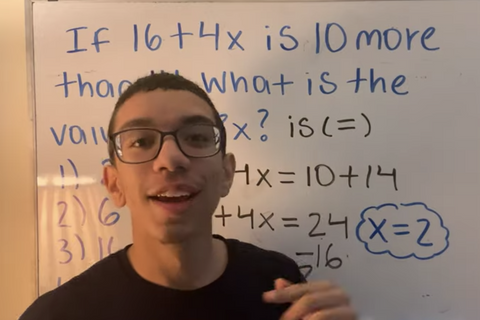 Meet Alexis Loveras, The Tik Tok Maths Tutor (BRONX, NYC)