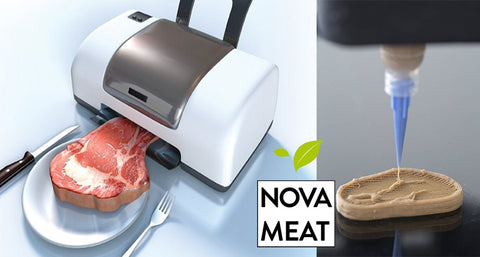 European Company Novameat Creates Vegan Steak Using 3-D Printing Technology