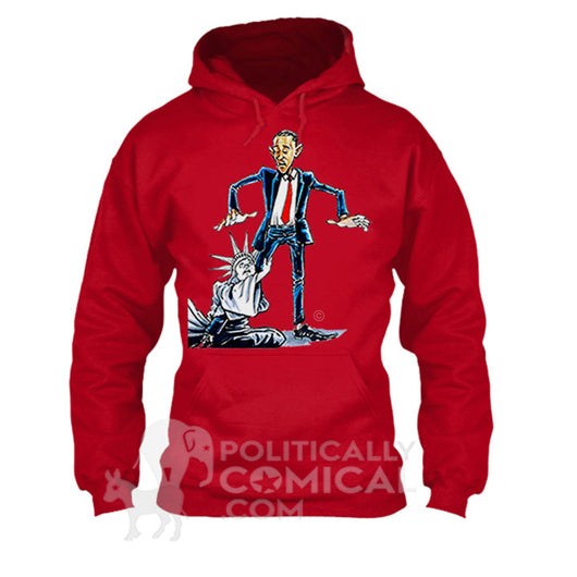 Barack Obama I Won't Let Go Red Sweatshirt