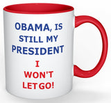 Barack Obama Red Coffee Mug I Won't Let Go
