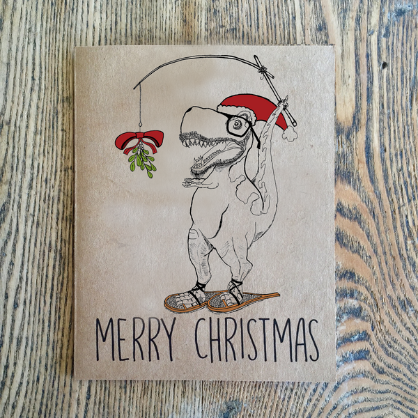 Dinosaur Christmas Card 5-Pack - All-Star 7th Anniversary Collection