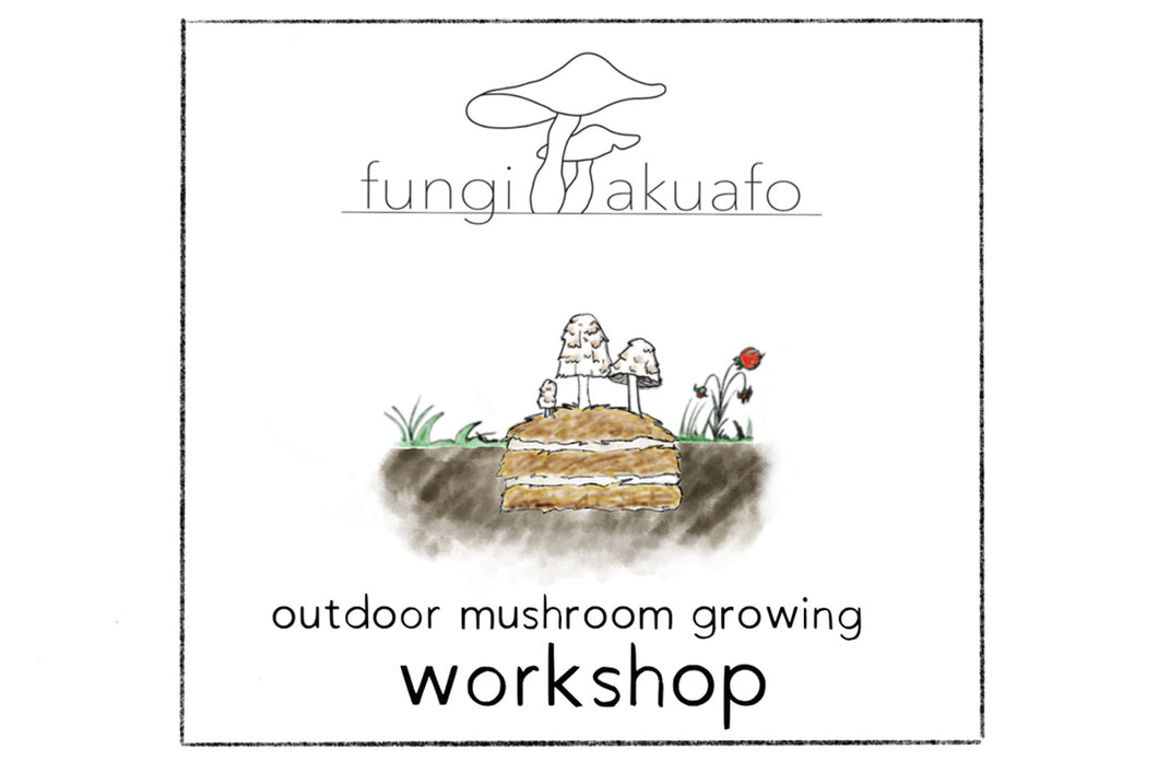 Introductory Series Workshop - Zoom - 2021 February 21 (Sunday) 2 Hours - Growing edible mushrooms in your backyard