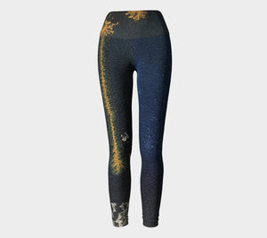 """Lucy"" Wide Waistband Legging"