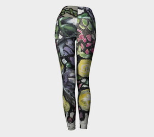 """Flora"" Wide Waistband Legging"