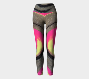 """Mia"" Wide Waistband Legging"